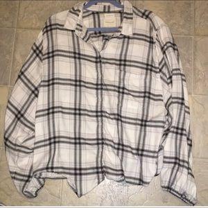 American Eagle flannel XXL